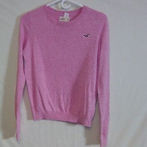 Hollister pink sweater. Medium. #261